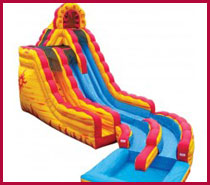 Fire & Ice Water Slide