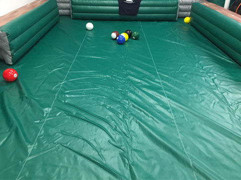 Human billiards rental new jersey for Pool game show